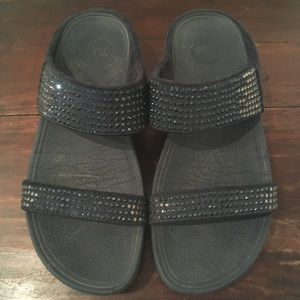 FitFlop sandals with rhinestones 💎 size 6